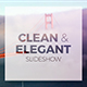 Clean Elegant Slideshow - VideoHive Item for Sale