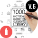 Download Whiteboard Animated Elements Library from VideHive