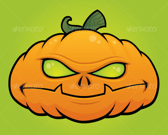 Pumpkin Monster Jack O Lantern - Halloween Seasons/Holidays