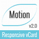Resume / CV & vCard Template - Motion - ThemeForest Item for Sale