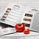 Simple Style A4 Menu - GraphicRiver Item for Sale