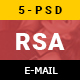 RSA Creative Multipurpose Email Template - GraphicRiver Item for Sale