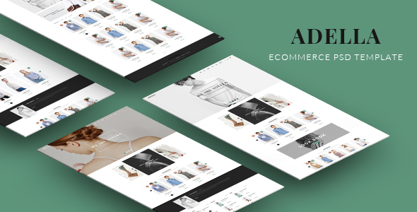 ADELLA – eCommerce PSD Template
