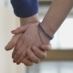 A Boy And a Girl Holding Hands With Love - VideoHive Item for Sale