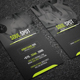 Fitness Business Card Templates - GraphicRiver Item for Sale