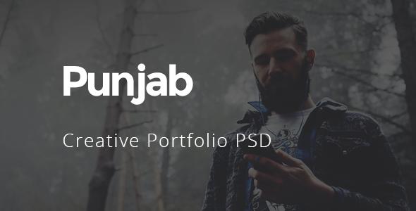Punjab – Creative Portfolio PSD