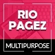 Rio Pagez Multipurpose Landing Pages Nulled