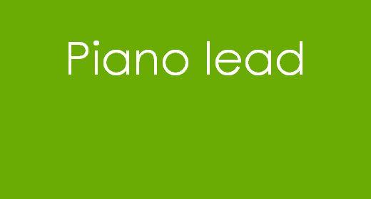 Piano lead