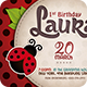Ladybug | Invitation - GraphicRiver Item for Sale