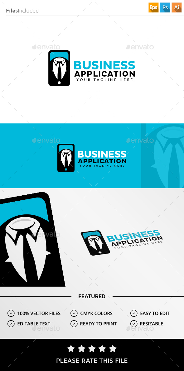 Suit Logo - Vector Abstract