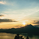 Lake Sunset with Mountain and Clouds - VideoHive Item for Sale