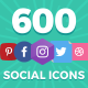Social Media Icons Bundle - GraphicRiver Item for Sale
