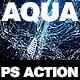 Aqua Photoshop Action - GraphicRiver Item for Sale