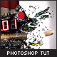 Slow Motion Bullet Shot Explosion - Ps Tutorial - Tuts+ Marketplace Item for Sale