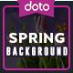 Spring Backgrounds - 6 Designs