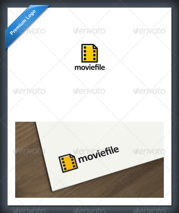 Movie File Logo Template - Objects Logo Templates