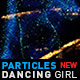 Particles Dancing Girl - VideoHive Item for Sale