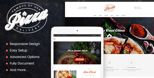 JMS Pizza – Responsive Prestashop Theme