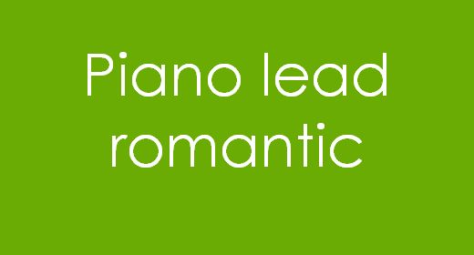 Piano lead Romantic