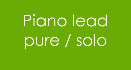 Piano lead Pure Solo