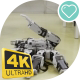 Demonstration Of a Small Robot Resembling a Scorpion On a Robotics Festival - VideoHive Item for Sale