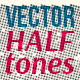 Cute Halftones — Vector Textures - GraphicRiver Item for Sale