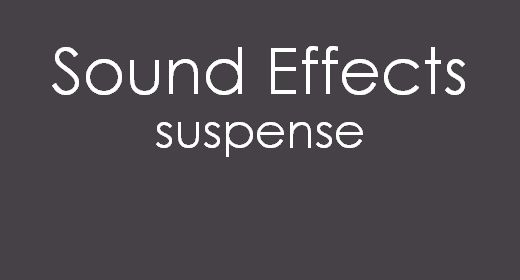 Sound Effects Suspense
