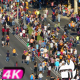 Crowd People Street - VideoHive Item for Sale