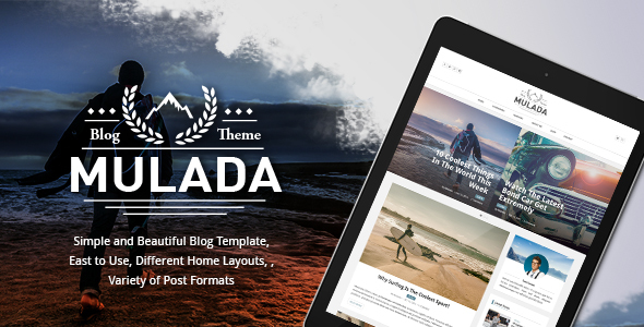 Mulada – Responsive Ghost Blog Theme