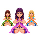 Yoga Lotus Position - GraphicRiver Item for Sale