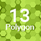 13 Polygon Backgrounds Hd - GraphicRiver Item for Sale