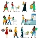 Shopping People Icons Set - GraphicRiver Item for Sale