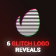 Glitch Logo Pack - VideoHive Item for Sale