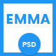 Emma - Multipurpose PSD Template Nulled