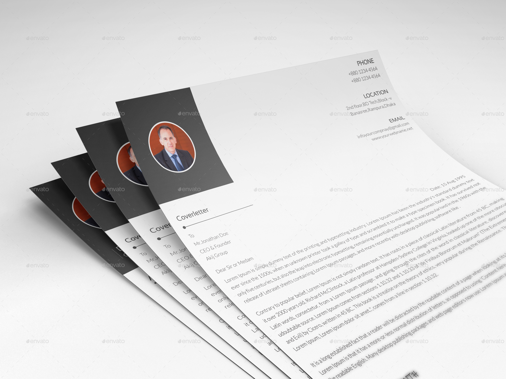 resume  cv by designlight