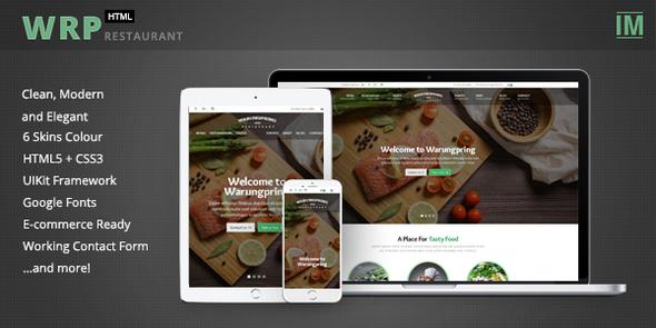Warungpring – Restaurant HTML Template