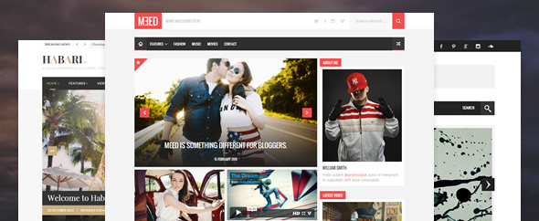 Themeforest cover flat