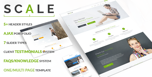 Scale - Business Joomla Template