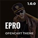 ePro - Premium OpenCart Template - ThemeForest Item for Sale