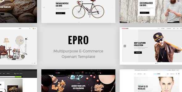 ePro – Premium OpenCart Template