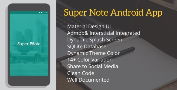 Super Note 2.0 - CodeCanyon Item for Sale