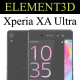 Element3D - Sony Xperia XA Ultra - 3DOcean Item for Sale