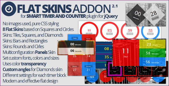 Smart Timer And Counter: Flat Skins Addon nulled