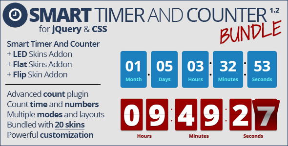 Smart Timer and Counter Bundle - CodeCanyon Item for Sale