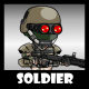 Soldier 50 Heavy Mercenary - GraphicRiver Item for Sale
