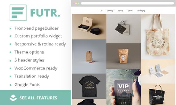 FUTR | Minimalistic & Content-Focused Portfolio Theme