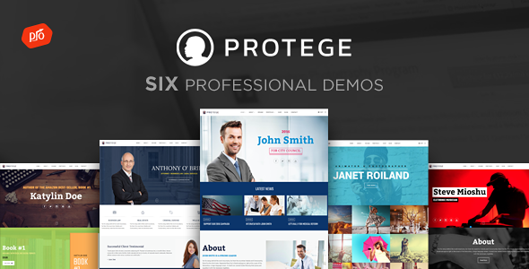 Protege - Single Professional Theme - Business Corporate