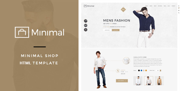 Minimal Shop – eCommerce HTML Template