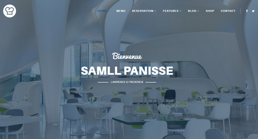 Fantastic Joomla Business Templates for Restaurant