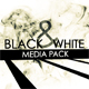 Black and White Media Pack - VideoHive Item for Sale